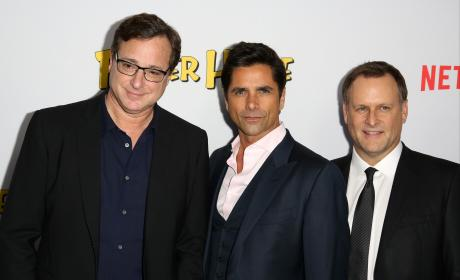 Bob Saget, John Stamos, and Dave Coulier: Fuller House Premiere