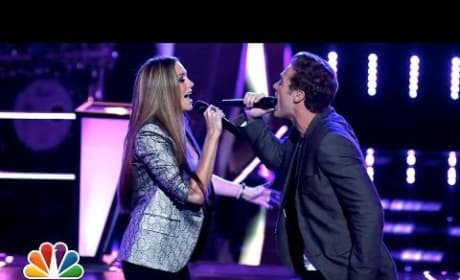 """Monika Leigh vs. Ray Boudreaux: """"Some Kind of Wonderful"""" (The Voice Batle Round)"""
