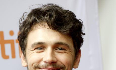 Smirking James Franco