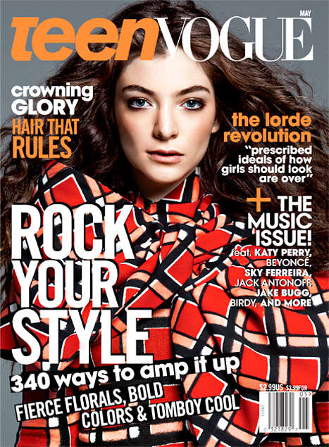 Lorde Teen Vogue Cover