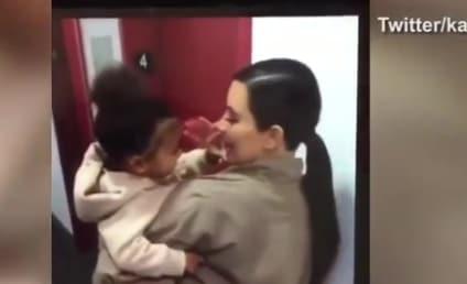 Kim Kardashian Gets Kandid, Kute with North West