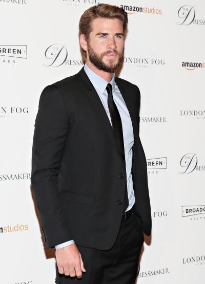 Liam Hemsworth in a Nice Suit