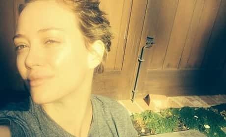 Hilary Duff: No Makeup
