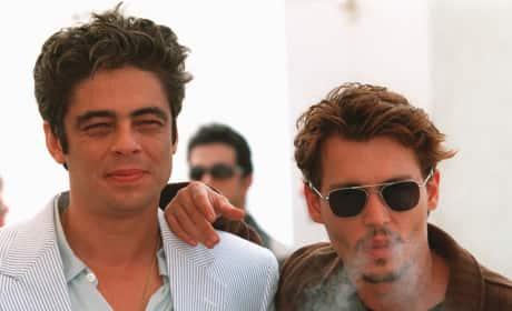 Johnny Depp & Benicio Del Toro