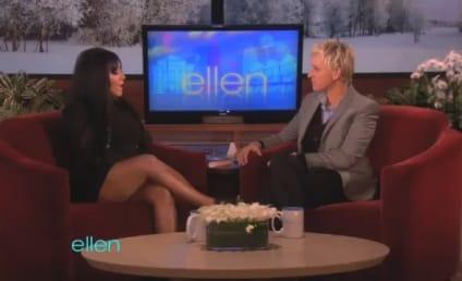 "Snooki Shares ""Workout"" Routine With Ellen"