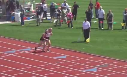 Meghan Vogel Carries Injured Rival Across Finish Line in H.S. Track Event, Becomes National Story