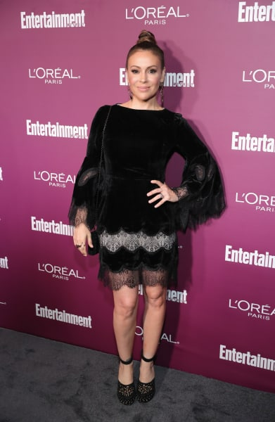 Alyssa Milano Red Carpet Image