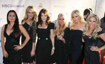The Real Housewives of Beverly Hills Gather for Russell Armstrong Funeral