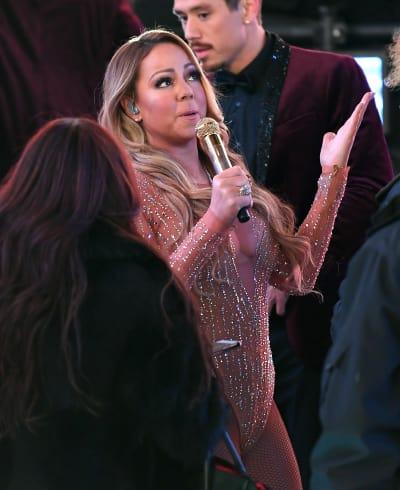 Mariah Carey Talks to God