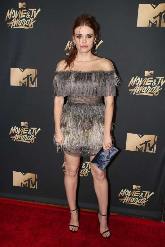 Holland Roden at 2017 MTV Awards