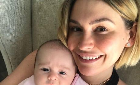 Lisa Osbourne and Baby Minnie