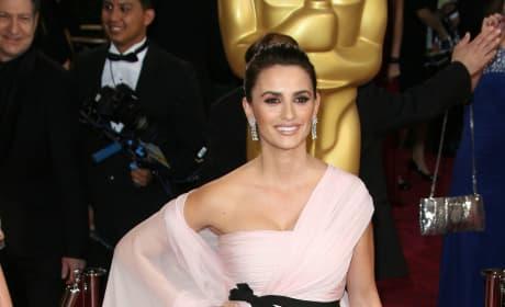 Penelope Cruz at the Academy Awards