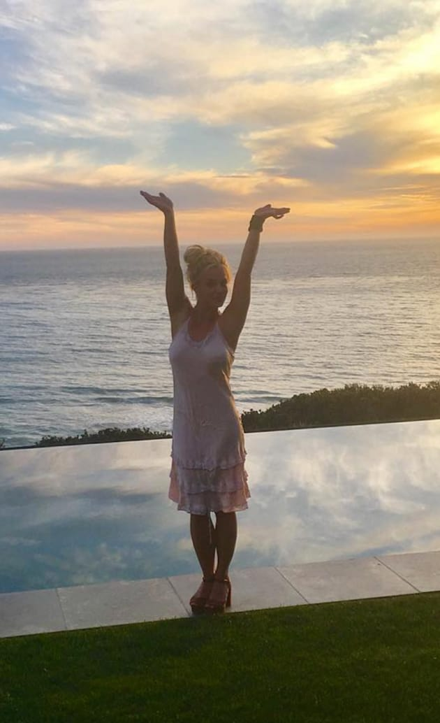 Britney Spears in Malibu