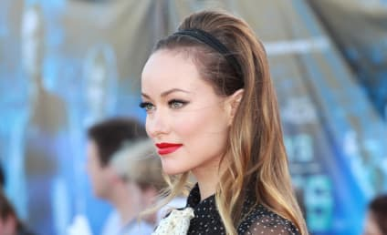 Olivia Wilde Movie Premiere Dress: Serious Side Boob Action!