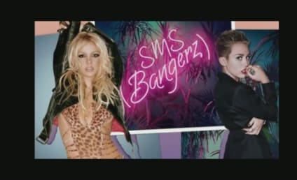 Miley Cyrus Teams with Britney Spears: Listen Now!