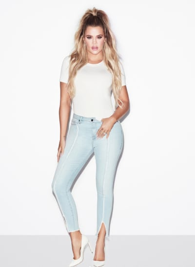 Khloe Kardashian Wears Denim