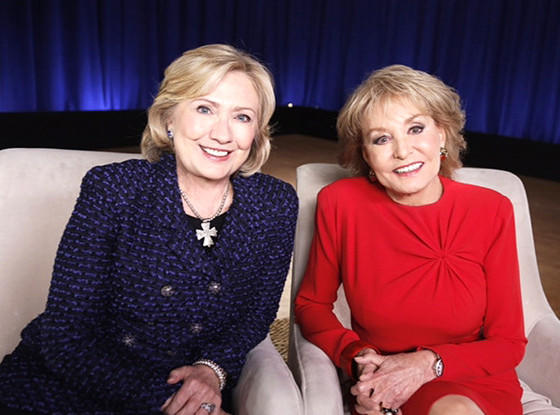 Hillary Clinton, Barbara Walters