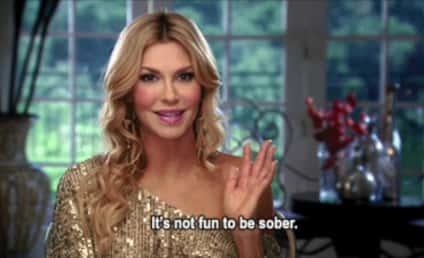 Brandi Glanville Breaks Down, Gets Drunk on Celebrity Apprentice Set