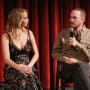 Jennfer Lawrence and Darren Aronofsky, Speaking
