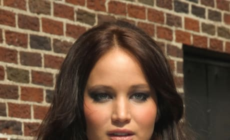 Jennifer Lawrence Goes Dark