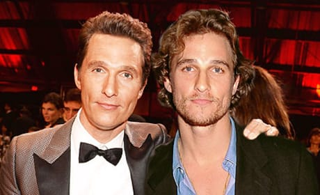 Matthew McConaughey in 2014 and 1996