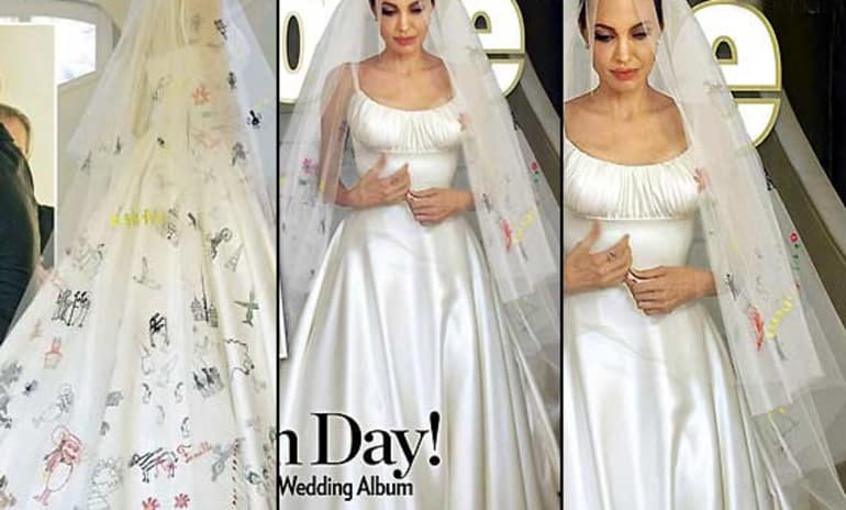Angelina Jolie and Brad Pitt to Donate Wedding Photo Payday to ...