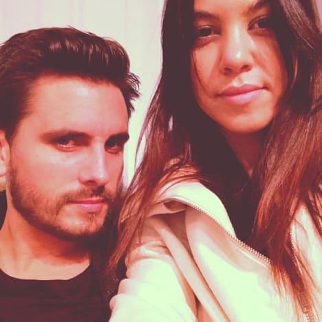 Scott Disick and Kourtney Kardashian Pic