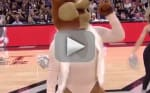 Spurs Mascot Mocks Mariah Carey, Flubs Live Performance