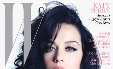 Katy Perry W Magazine Cover