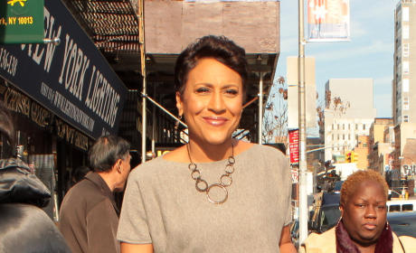 Robin Roberts in NYC