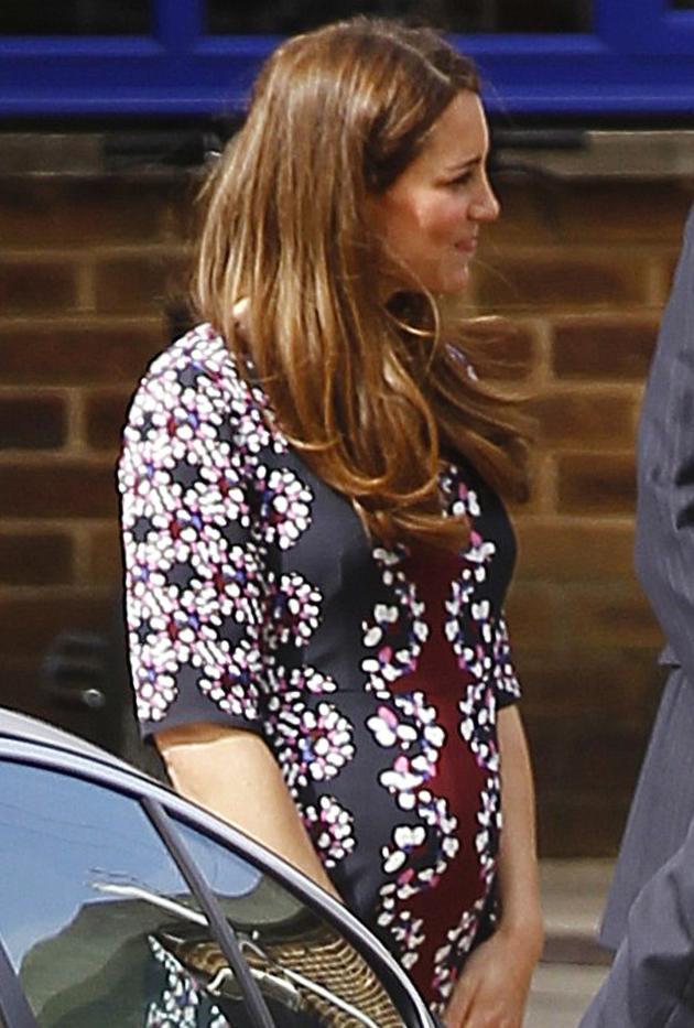 Kate Middleton in Floral Dress