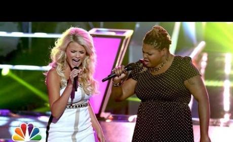 """Olivia Henken vs. Stephanie Anne Johnson: """"Done"""" - The Voice Battle Round"""