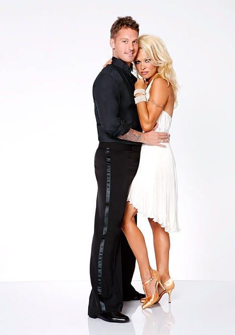 Pamela Anderson and Tristan McManus