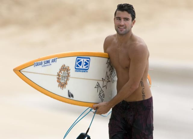 Shirtless brody jenner
