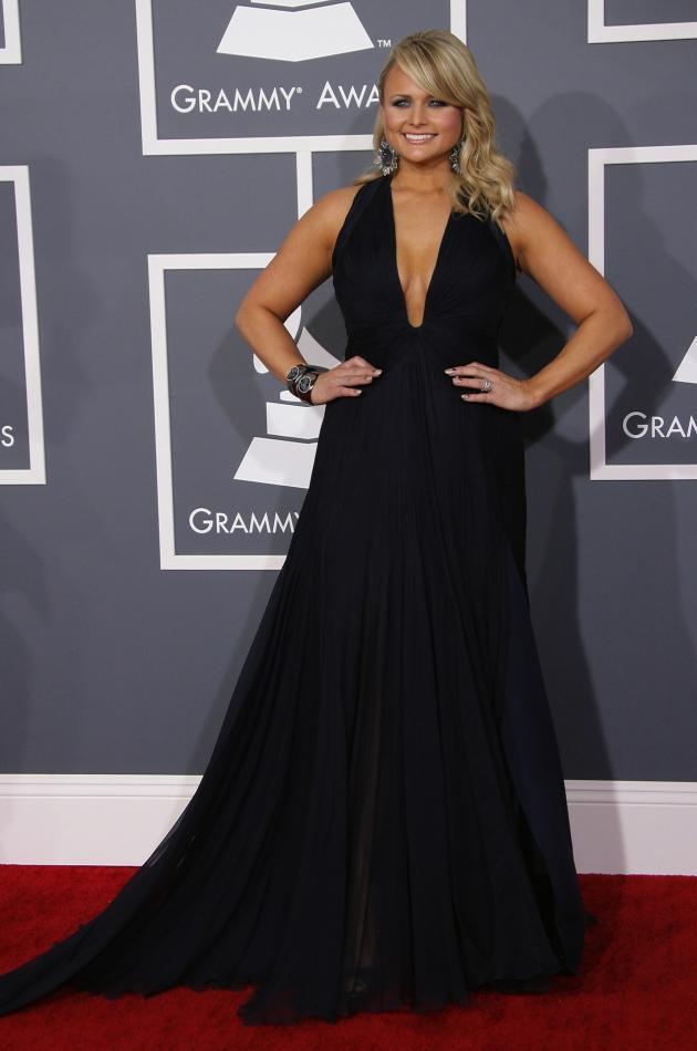 Miranda Lambert at the 2013 Grammys