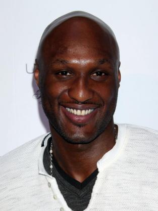 Lamar Odom Close Up
