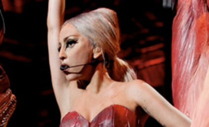 Lady Gaga Meat Dress: The Low-Cut Return!