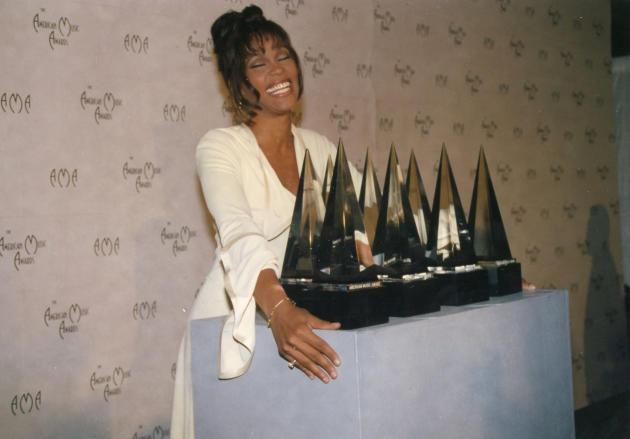 Whitney Houston in 1994