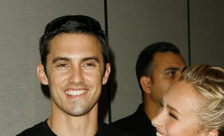 Milo Ventimiglia and Hayden Panettiere Photo