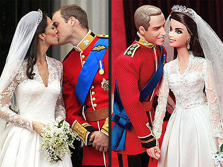 William and Kate Barbies