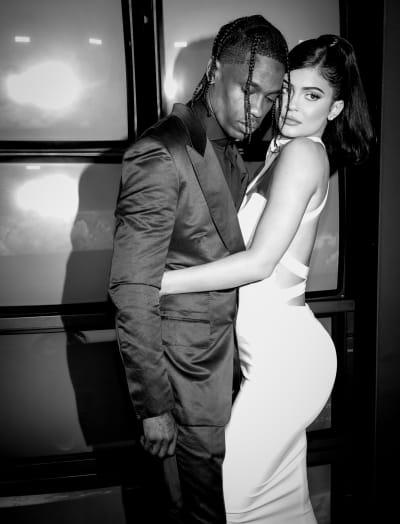 Travis Scott and Kylie Jenner Grammys Pic