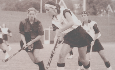 Kate Middleton Playing Field Hockey