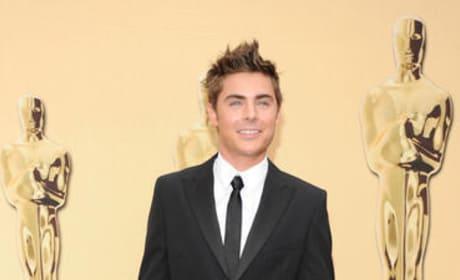 Zac at the Oscars