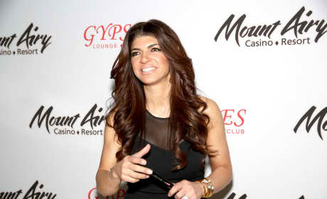 Teresa Giudice at Mount Airy Resort Casino
