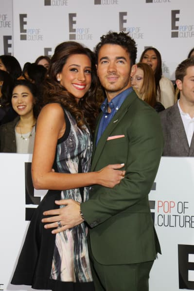 Danielle and Kevin Jonas