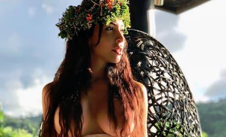 Farrah Abraham, Topless in Fiji