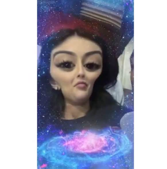 Kylie gets alien-ized, too