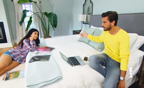 Kourtney Kardashian and Scott Disick: Fight, Fight, Fight!