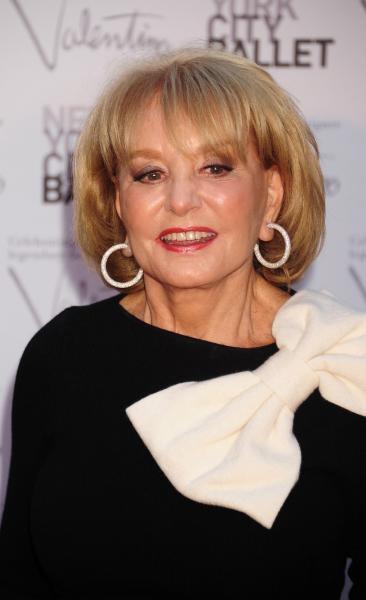 Barbara Walters Red Carpet Pic