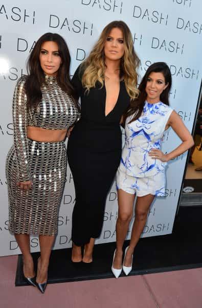 Kim, Khloe and Kourtney Kardashian Image